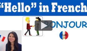 Hello in French: how to greet people in French
